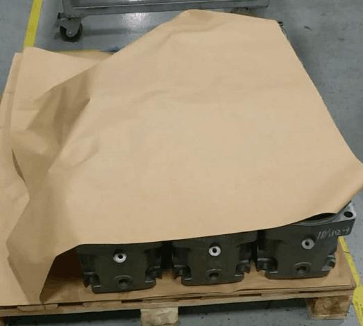 使用VCI气相防锈纸注意事项